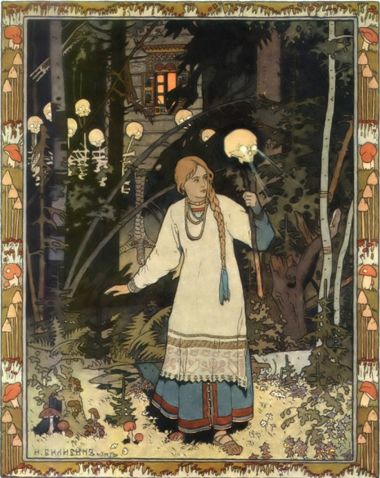 Vassilisa the Beautiful by Ivan Bilibin