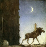 Leap the Elk by JohnBauer