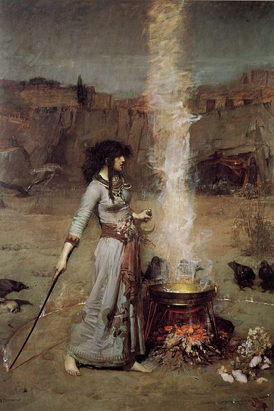 Magic Circle by John William Waterhouse