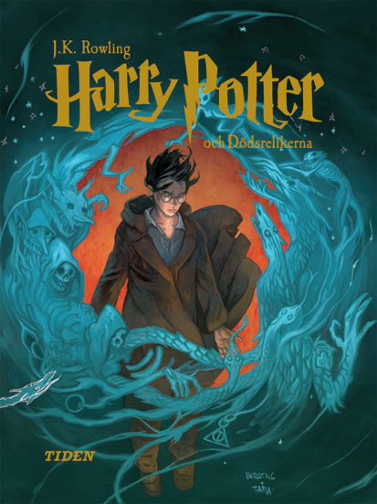 Swedish Edition of Harry Potter and the Deathly Hallows Illustrated by Alvaro Tapia