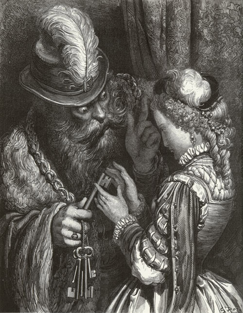 Bluebeard by Gustave Doré