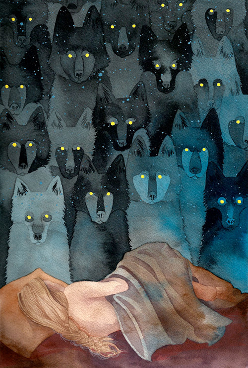 In the Company of Wolves by Caitlin Clarkson