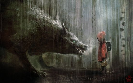 Red Riding Hood by Manuhell