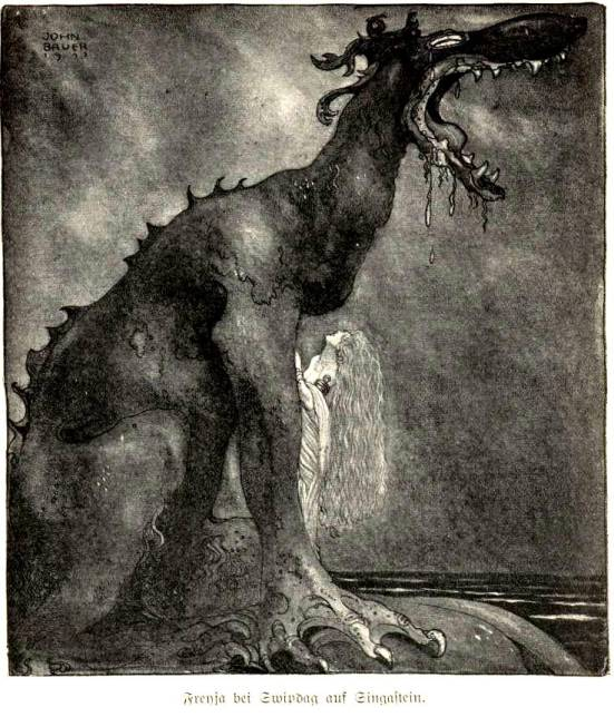 Svipdag Transformed by John Bauer