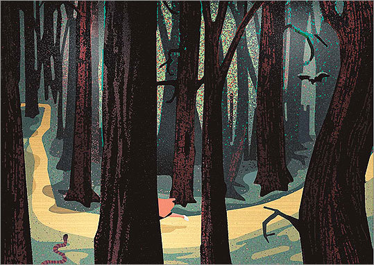 The Dark Forest of Childhood by Mick Wiggins