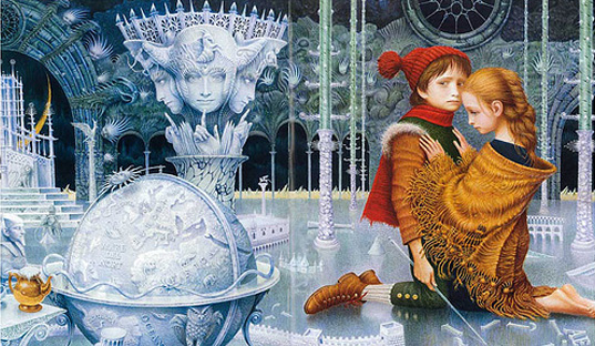 The Snow Queen by Vladyslav Yerko