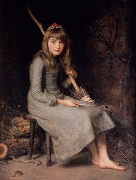Cinderella by John Everett Millais