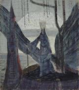 The White Queen by M. K. Čiurlionis