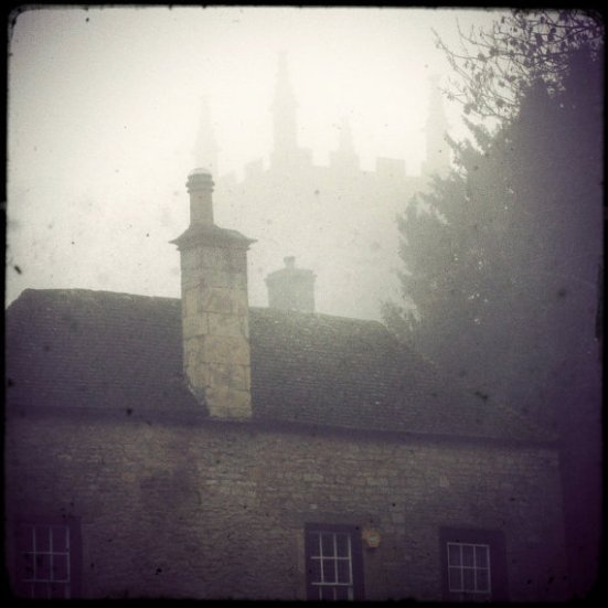 Fog and Spires by Miss Quite Contrary