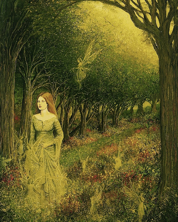Morgan Le Fay By Emily Balivet Gathered Nettles