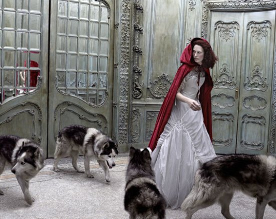 Red Riding Hood by Eugenio Recuenco