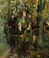 Robin Hood by Howard DavidJohnson