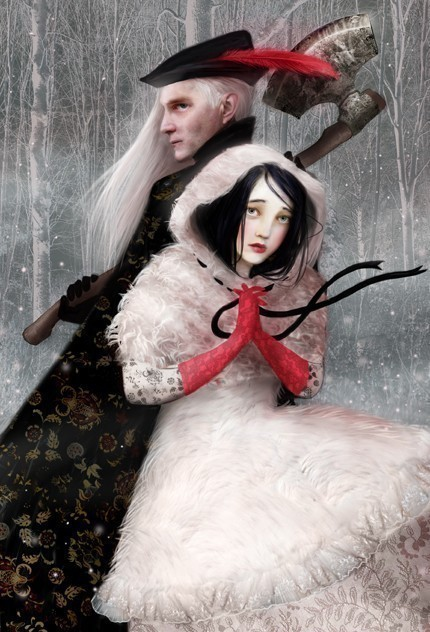 Snow White and the Huntsman by Lisa Falzon