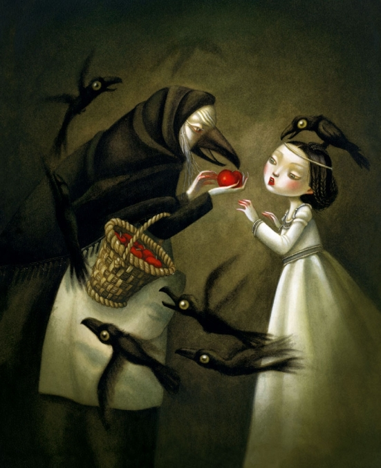 Snow White by Benjamin Lacombe
