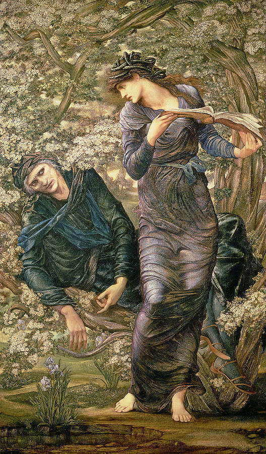 The Beguiling of Merlin by Sir Edward Burne Jones