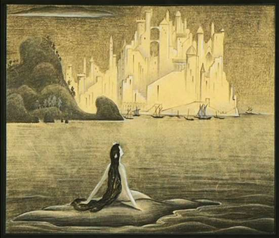 The Little Mermaid by Kay Nielsen