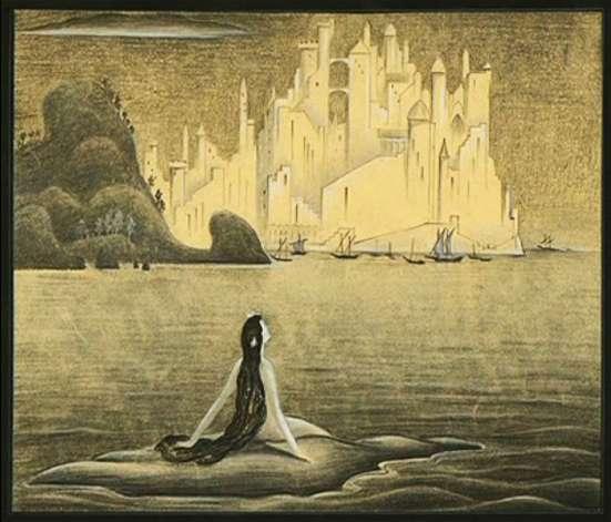 The Little Mermaid by Kay Nielsen