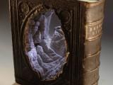 Carved Book Landscape by GuyLaramée