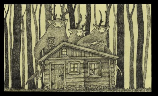 Deep in the Woods by John Kenn