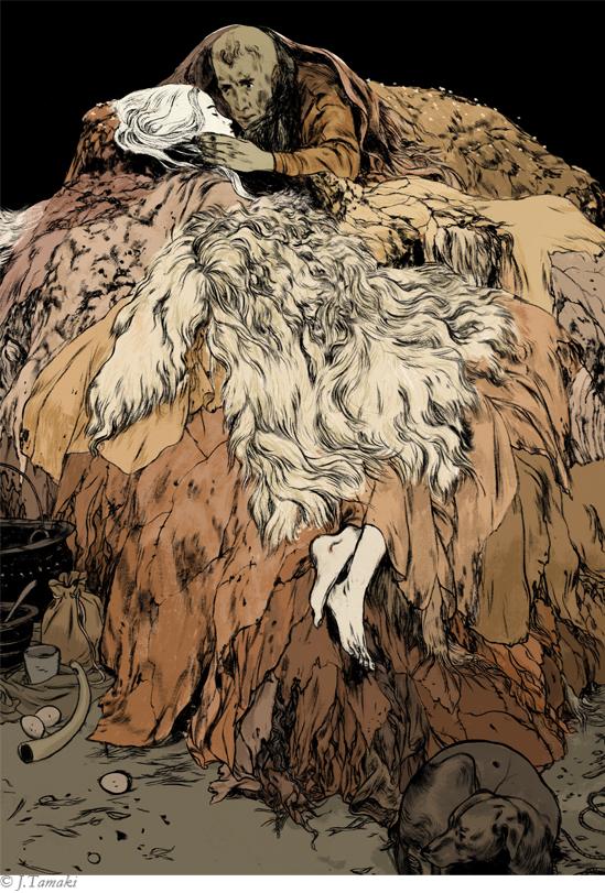 Irish Myths and legends by Jillian Tamaki
