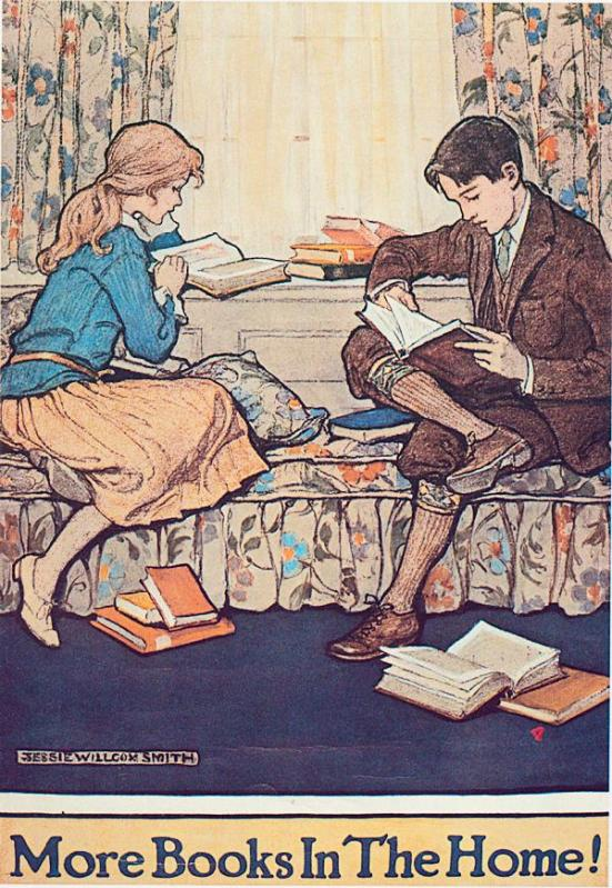 More Books in the Home by Jessie Willcox Smith