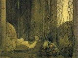The Changeling by John Bauer