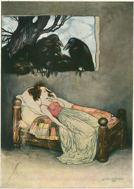 From Grimm's Fairy Tales by Gustaf Tenggren