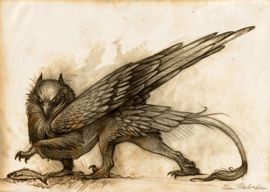 Gryphon by Kate Pfeilschiefter