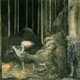 The Princess and the Elk by John Bauer