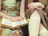 Books and Garters by Elena Gal