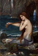 A Mermaid by John WilliamWaterhouse
