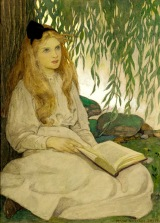 Alice with Thoughtful Eyes by Jessie Willcox Smith