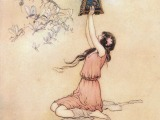 Pandora and her Box by Warwick Goble