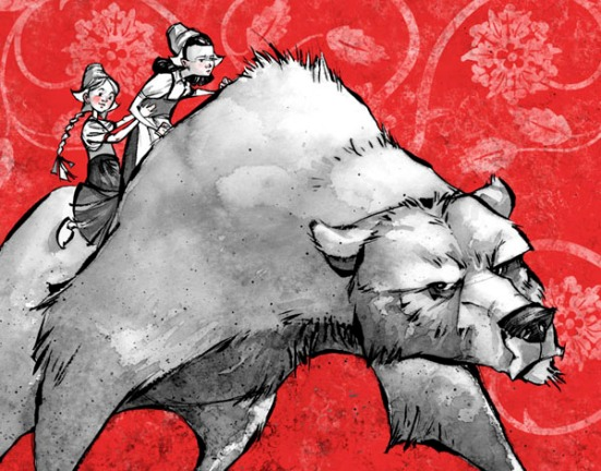 Snow White & Rose Red by David Hohn