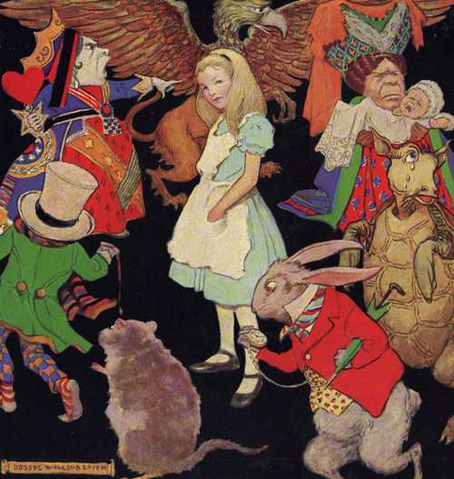 Alice in Wonderland by Jessie Willcox Smith