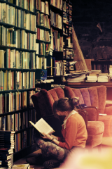 Reading in the Stacks by Thawing