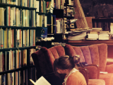 Reading in the Stacks byThawing