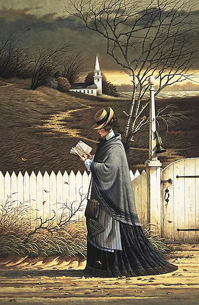 The Sea Captain's Wife by Charles Wysocki
