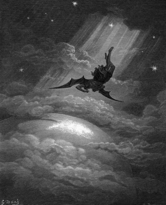 The Fallen Angel by Gustave Doré