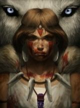 Princess Mononoke by Cathy Rox
