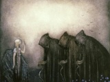 The Witches by John Bauer