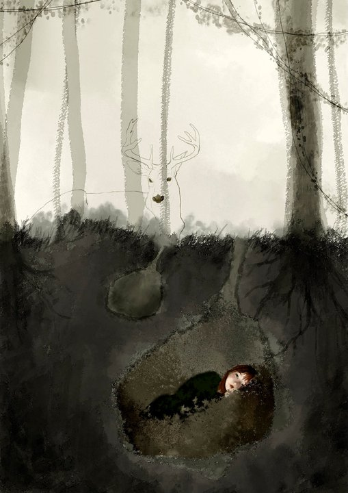 Woodland by Barbara Bargiggia