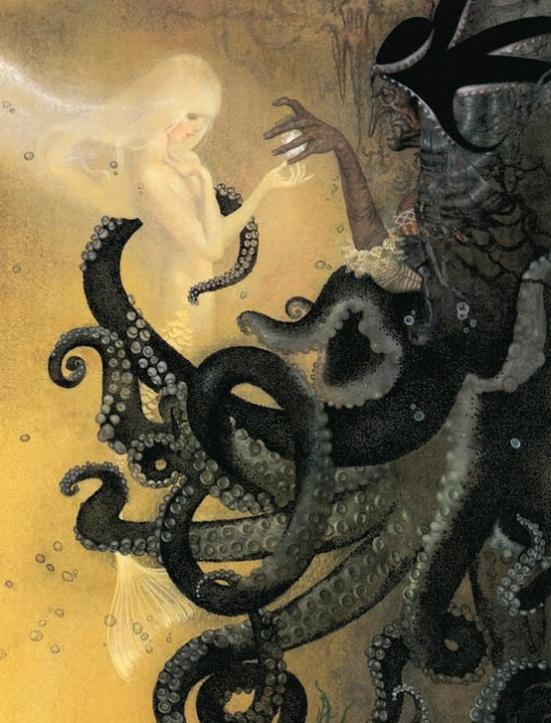 The Sea Witch by Nadezhda Illarionova