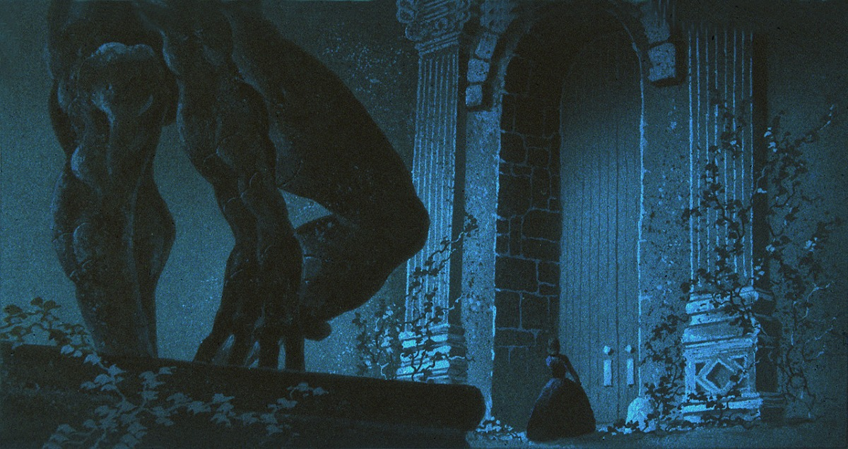 concept art from beauty and the beast gathered nettles