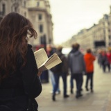 Walking and Reading by DustJacket