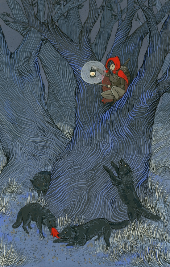 Red Riding Hood by Nicole Gustafsson